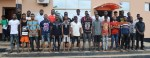 EFCC Arrests 24 OOU Students For Cyber Crime in Ogun, Exotic Cars Recovered [Photos]