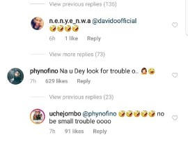 Davido, Phyno, Simi and other celebs react after Runtown showed off the pet Lion he just bought (Photo/Video)