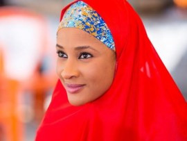 Check out these lovely photos of Adesua Etomi rocking the Hijab