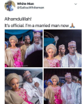 Nigerian Couple's Wedding Photos Raise Brows Online