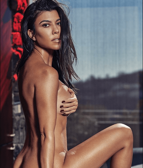 Photos: Kourtney Kardashian poses completely naked for her very first GQ shoot 18+