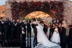 Photos From Miguel & His Girlfriend of 13 Years Nazanin Mandi Wedding in LA