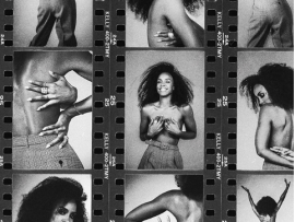 Singer Kelly Rowland announces her new track with topless photo