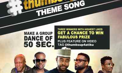 Sani Danja x Style-Plus, J. Martins & Chuddy K - Thumbs Up 4 Atiku