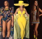 Check Out All The Stunning Outfits Beyonce Rocked For Her Global Citizen Performance in South Africa