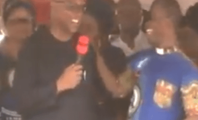 Father Mbaka criticizes Peter Obi for refusing to donate to his church and warns that he and Atiku will lose the election. And social media users react (video)