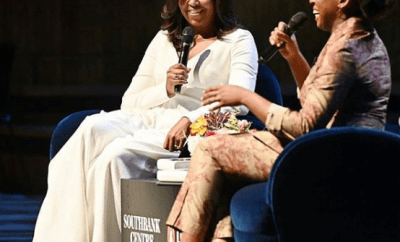 Michelle Obama and Chimamanda Adichie discuss the former US  first lady
