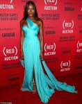 Naomi Campbell Dazzles in Electric Blue Gown As She Attends An Event in Miami [Photos]