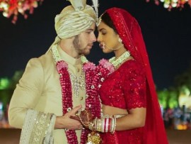 Actress Priyanka Chopra takes her new husband Nick Jonas