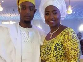 Husband of?TVC presenter, Morayo Afolabi-Brown who said she wouldn