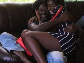 Buju Banton reunites with his daughter who was just 11-years old when he was jailed in 2011 (Photos)