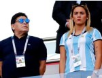 Diego Maradona's Young Girlfriend Reportedly Throws Him Out of The House He Bought For Her