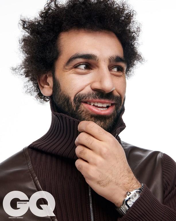 African best footballer Mohamed Salah covers GQ Magazine?(Photos)