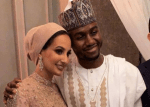 Photos From The Wedding of Dangote's Nephew, Mohammed, To His Malaysian Bride