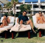 Scott Disick Takes His Ex Kourtney Kardashian And His Girlfriend Sofia Richie To Mexico For Family Vacation [Photos]