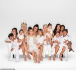 The Kardashian Family Release Their Christmas Card And Rob, Kendall And Kris Jenner Are Missing