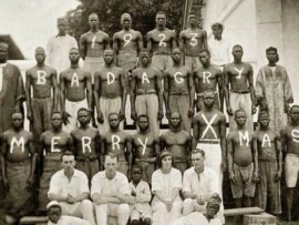 See what Christmas in Badagry looked like in 1923