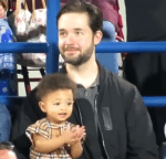 Adorable Video of Olympia Ohanian Clapping During Her Mum Serena Williams And Aunt Venus Williams Tennis Match