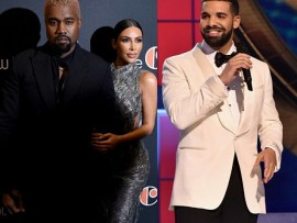 Kanye West calls out Drake for following his wife Kim Kardashian on Instagram (Screenshots)