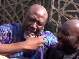 Video: Dino Melaye slumps as he arrives Police headquarters