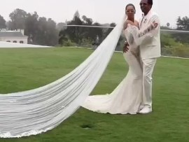 Beyonce reveals the dress she wore to renew her vows to Jay-Z and it