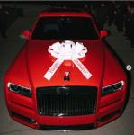 Gucci Mane Buys His Wife Keyshia Ka'Oir A 2019 Rolls Royce As Birthday Gift [Photos]