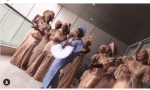 Video of Simi And Her Bridesmaids Dancing At Her Traditional Wedding To Adekunle Gold