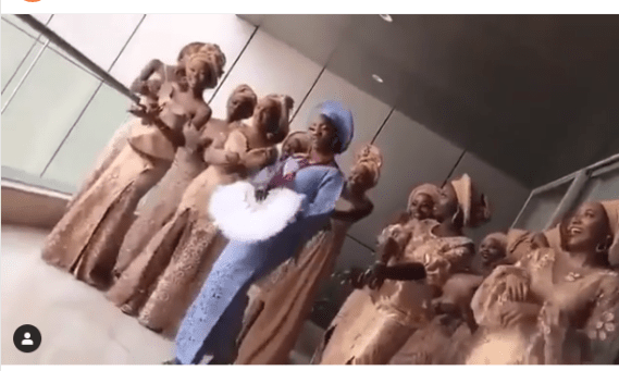 Video of Simi and her bridesmaids practicing their entrance dance?at her traditional wedding to?Adekunle Gold