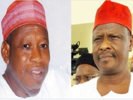 Governor Ganduje who was accused of taking bribe,?drags Kwankwaso to EFCC for alleged corruption and diversion of government?funds