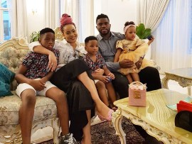 Lovely family photos of Joseph and Adaeze Yobo