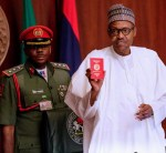 President Buhari Unveils New Nigerian International Passport With 10-Year Validity