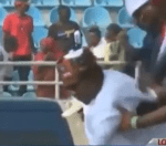 Video: President Buhari Slipped And Almost Fell At The APC Presidential Rally in Kogi State