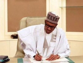 President?Buhari signs new law banning discrimination against persons with disability