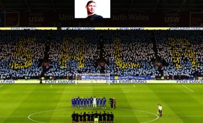 Cardiff City hold touching tribute ahead of their?first home match since Emiliano Sala