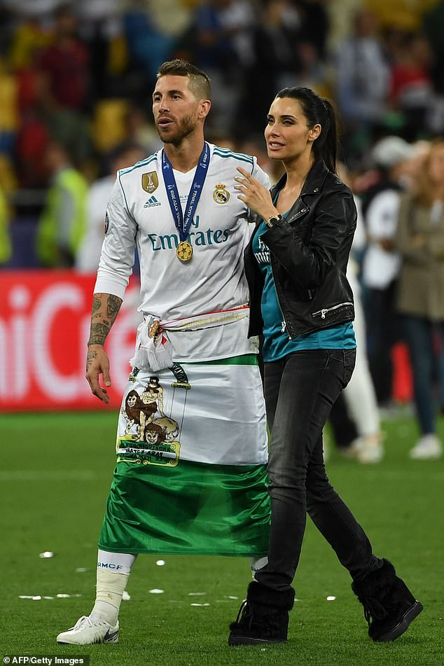 Spain and Real Madrid captain Sergio Ramos to marry TV presenter girlfriend Pilar Rubio in star-studded ceremony in Seville