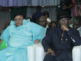 Lovely new photos of Goodluck Jonathan and his wife Patience