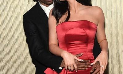 Kylie Jenner & Travis Scott pack on the PDA at Clive Davis pre-Grammy