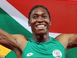 Olympic champion and intersex athlete Caster Semenya