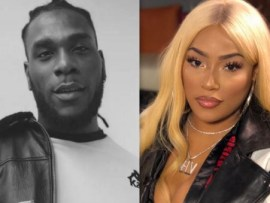 Burna Boy shows off the first ever Valentine?gift he got from his new boo, Stefflon?Don (Video)