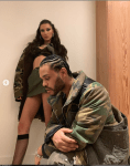 The Weeknd And His Girlfriend Bella Hadid Rock Matching Camouflage Outfits in New Photos
