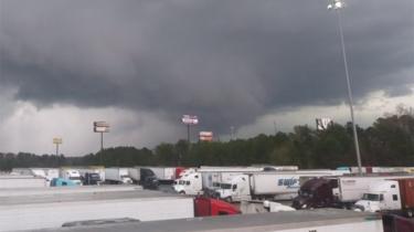 Tornado in Georgia, US, on 3 March 2019