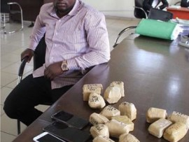 EFCC arrests man with 19 wraps of raw gold at Lagos airport (Photo)