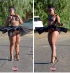 South African 'Pantless Dancer' Zodwa Wabantu Goes Underwear- Free in New Photo
