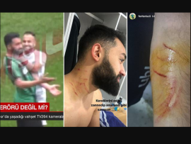 Football player is caught using a razor blade to attack opponents on the field as his victims show off scars on social media (Photos/Video)