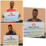 Three Internet Fraudsters Arraigned in Court [Photos]