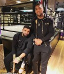 Photo: Drake Hangs Out With Anthony Joshua