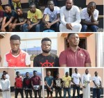 Fresh Set of 10 Suspected Internet Fraudsters Arrested By EFCC in Ibadan