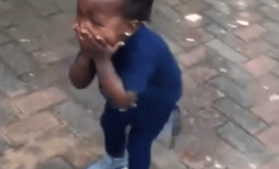 Video: Little girl steals hearts with her adorable reaction when she was surprised with a car for her 2nd birthday