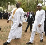 Caption This New Photo of Senator Dino Melaye And Bukola Saraki