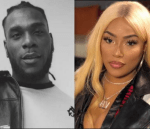 Stefflon Don Hints At The Size of Burna Boy's Male Member After A Twitter User Commented About it